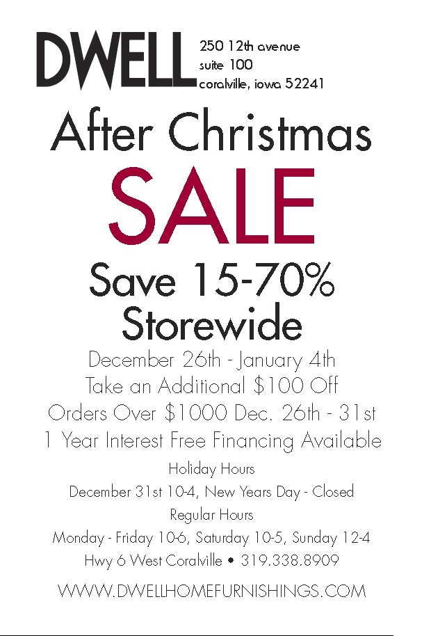 after christmas sale dwell up to 70% off coralville