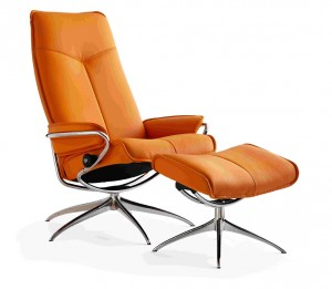 Ekornes Stressless City High Back Recliner